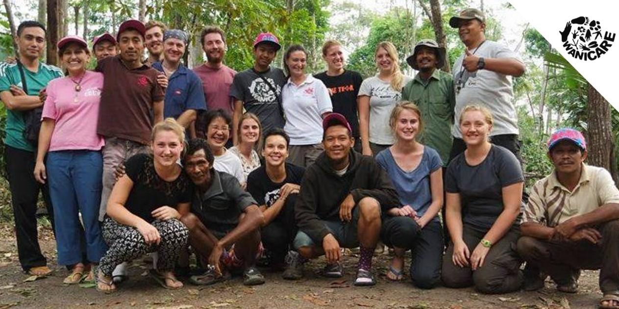 Volunteers vrijwilligerswerk vrijwilligers indonesie wanicare java